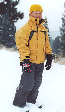 Jake in Backhill outerwear