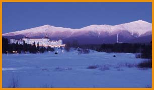 The Mt. Washington Hotel at Bretton Woods. Photo courtesy of Bretton Woods Resort