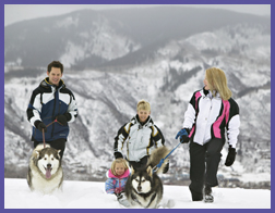 Photo courtesy Obermeyer; winter outfits for the whole family