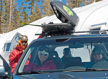 Zimride - People ride sharing with ski gear