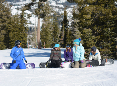 A group out learning with a Sugar Bowl Instructor