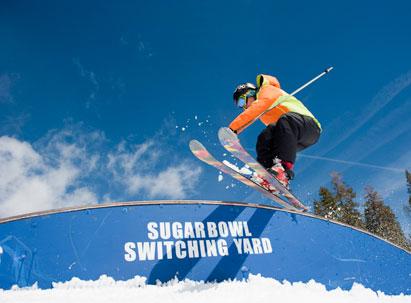 skier park large
