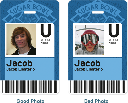 Upload Pass Photo example