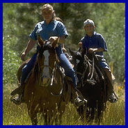 Horseback riding at Northstar