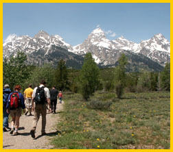 Tetons National Park, courtesy of National Parks