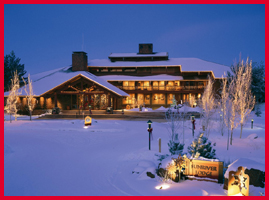 Sunriver Lodge, Oregon; photo courtesy of Sunriver Resort