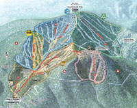 Trail Map - Northstar-at-Tahoe, Lake Tahoe, California