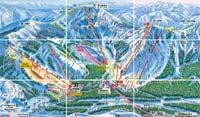 Trail Map - Sugar Bowl, Lake Tahoe, California