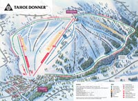 Trail Map - Tahoe Donner, Lake Tahoe/Truckee, California